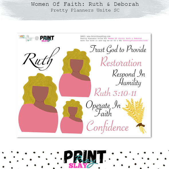 Women of Faith: Ruth & Deborah PPUSC