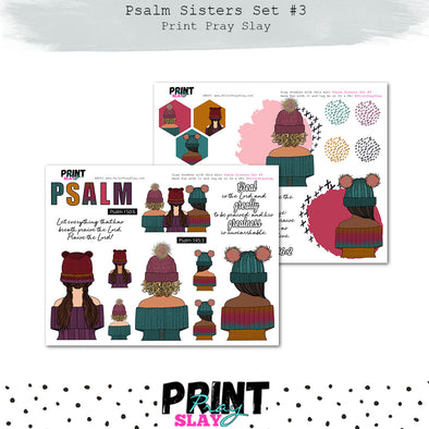 Psalm Sisters Set #3