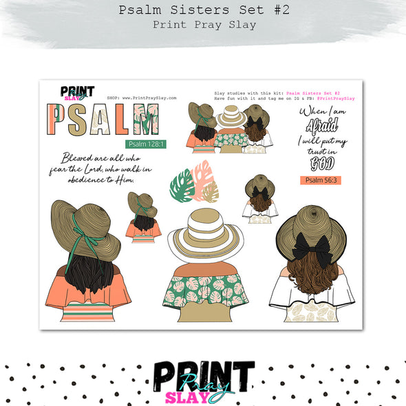 Psalm Sisters Set #2