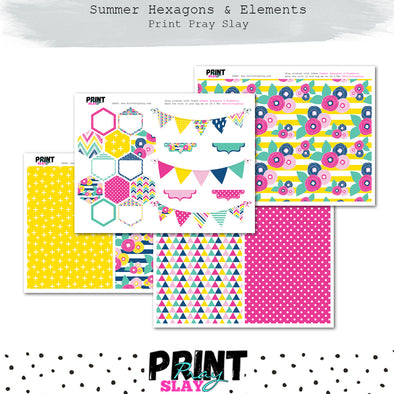 Summer Hexagons & More