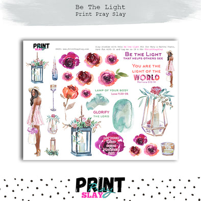 Be the Light Kit - Mary & Martha Plans DP