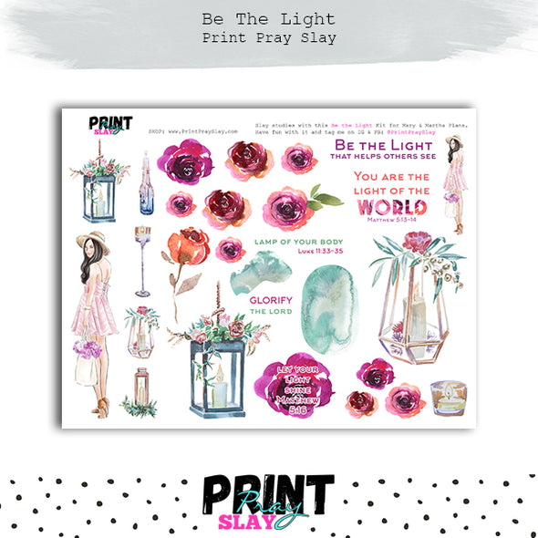Be the Light Kit - Mary & Martha Plans LT
