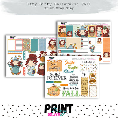 Itty Bitty Believer Dolls Fall LT