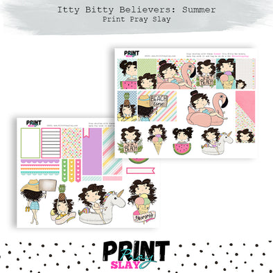 Summer Itty Bitty Believers LT Brunette