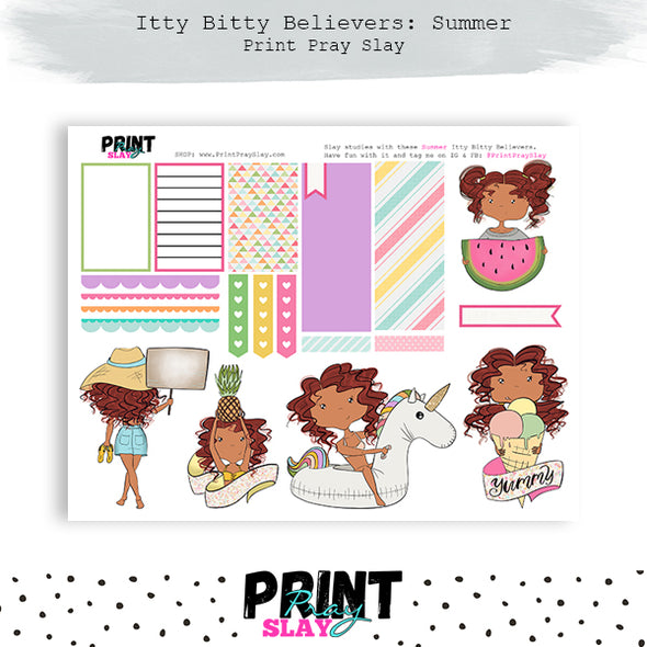 Summer Itty Bitty Believers MD