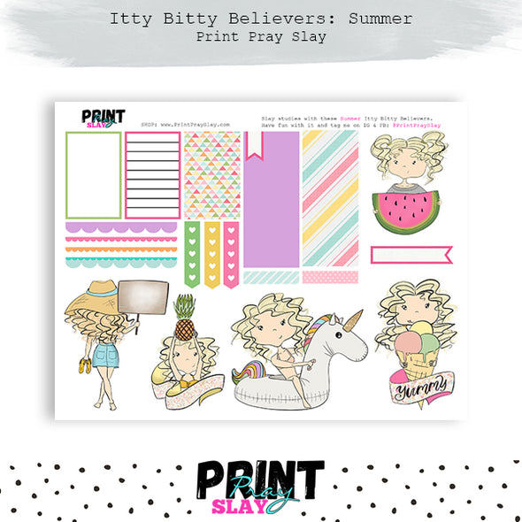 Summer Itty Bitty Believers LT Blonde