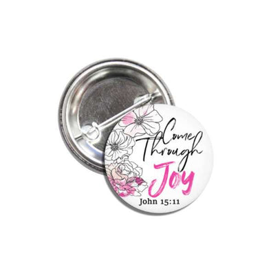 Joy Pin Back Button