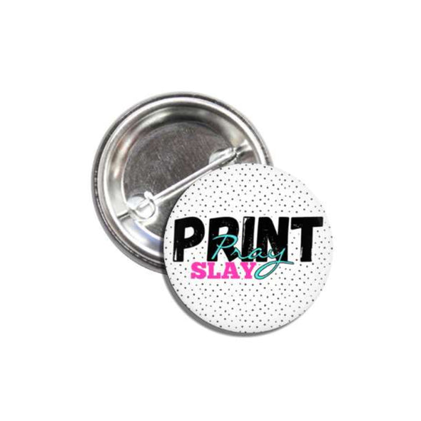 PPS Logo Pin Back Button