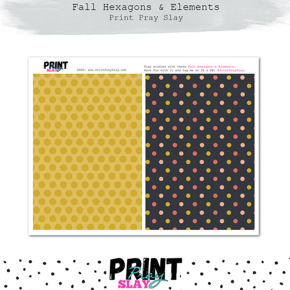 Fall Hexagons & More