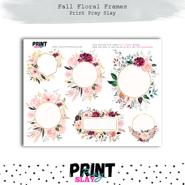 WPS Fall Floral Kit DP