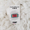 Heaven Ticket Enamel Pin