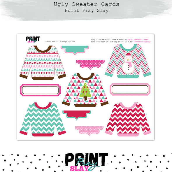 Ugly Sweater Cards