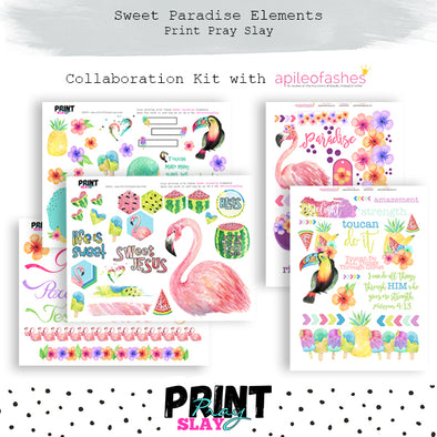 Sweet Paradise Collab Kit