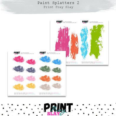 Paint Splatters 2
