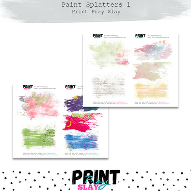 Paint Splatters 1