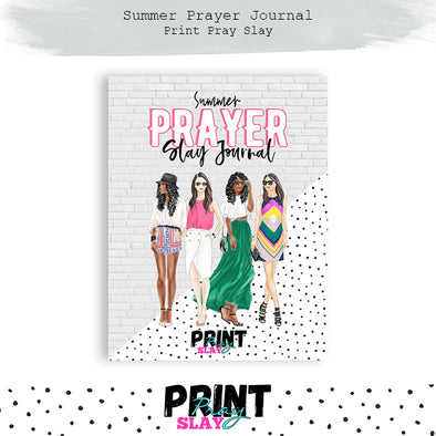 Summer Prayer Journal CLASSIC HAPPY PLANNER Size