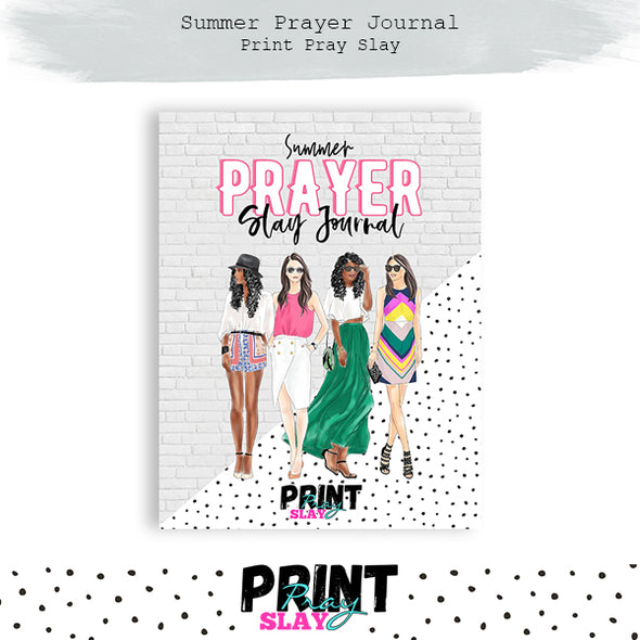 Summer Prayer Journal (25 pgs)