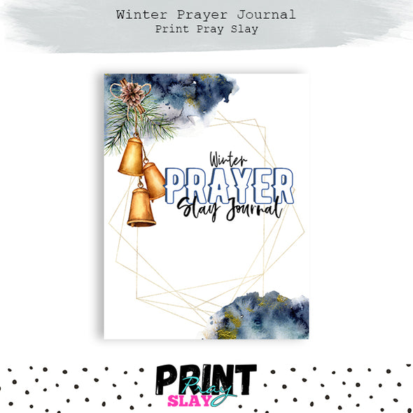 Winter Prayer Journal 8.5x11 Size (44 pages)