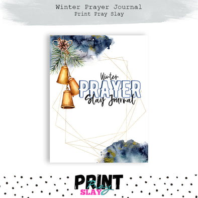 Winter Prayer Journal CLASSIC HP Size (44 pages)