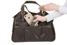 Load image into Gallery viewer, Metro - Chocolate Brown w/ Tassel Dog Bag - PetStoreNMore