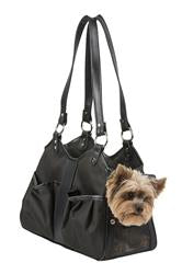 Metro Sable w/black leather trim & tassel - PetStoreNMore