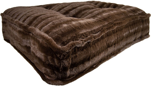 Sicilian Rectangle Bed Godiva Brown