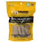 Indigenous Dental Health Bones - Chicken Flavor - 13 Count - PetStoreNMore