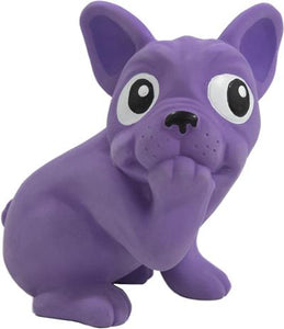 Tootiez Frenchie Dog, Grunting Dog Squeak Toy