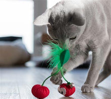 Load image into Gallery viewer, Petstages™ Dental Cherries Cat Toy