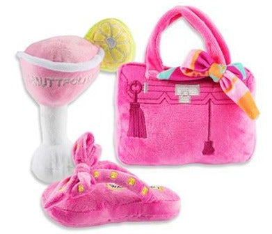 Pretty In Pink Dog Toys