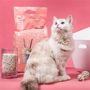 Touchcat 'Litter-ally Natural' Absorbent and Clumping Cat Litter w/ New Technology