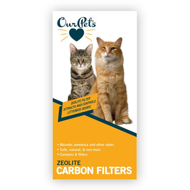 OurPets Universal Carbon Filters - 2 boxes  of 6 pk.
