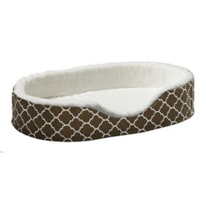 Quiet Time Teflon Brown Ortho Nesting Dog Bed - PetStoreNMore