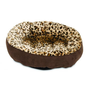 Aspen Pet Round Pet Bedding - Animal Print - PetStoreNMore