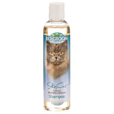 Bio Groom Silky Cat Tearless Protein & Lanolin Shampoo
