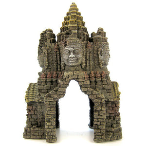 Blue Ribbon Angkor Wat Temple Gate Ornament
