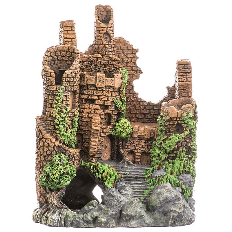 Blue Ribbon Exotic Environments Forgotten Ruins Aquarium Ornament - PetStoreNMore