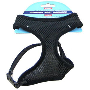 Coastal Pet Comfort Soft Adjustable Dog Harness - Black - PetStoreNMore