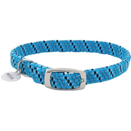 Coastal Pet Elastacat Reflective Safety Collar with Charm Blue/Black - PetStoreNMore