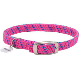 Coastal Pet Elastacat Reflective Safety Collar with Charm Pink - PetStoreNMore