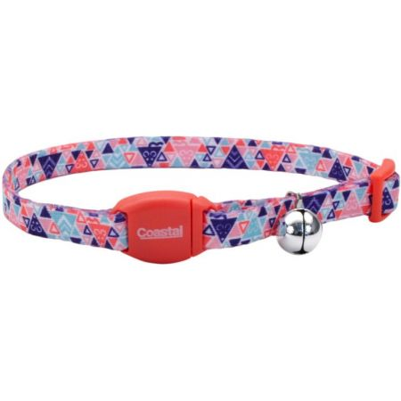Coastal Pet Safe Cat Breakaway Collar Collar Multi Triangle - PetStoreNMore