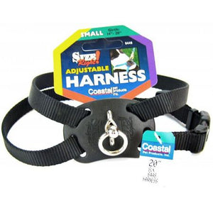 Coastal Pet Size Right Nylon Adjustable Dog Harness - Black - PetStoreNMore