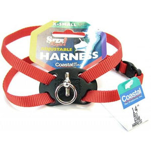 Coastal Pet Size Right Nylon Adjustable Dog Harness - Red - PetStoreNMore