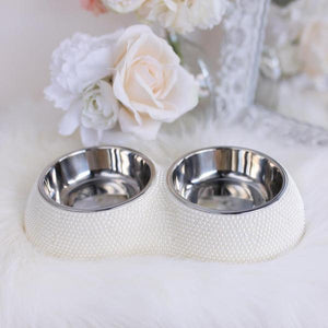 Pearl Dining Bowl By Hello Doggie - PetStoreNMore