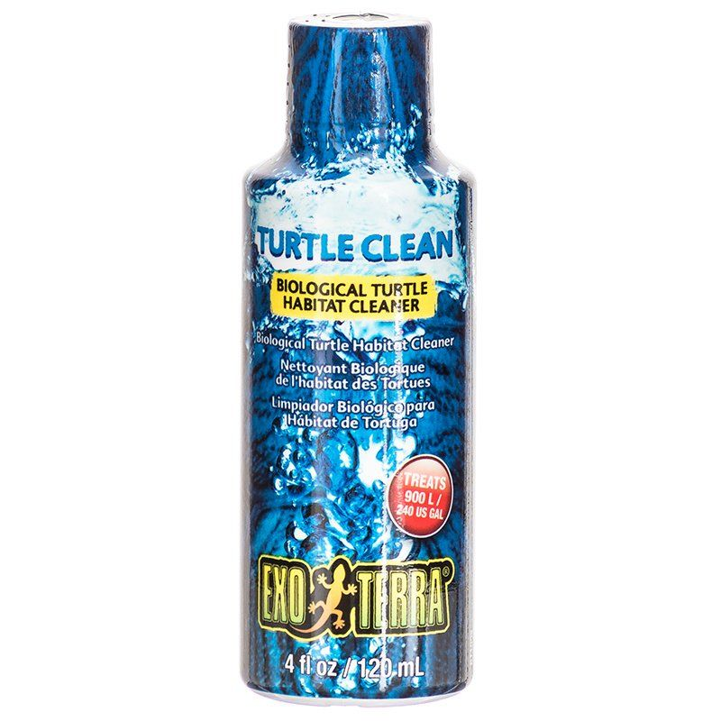 Exo-Terra Turtle Clean Biological Turtle Habitat Cleaner 4oz - PetStoreNMore