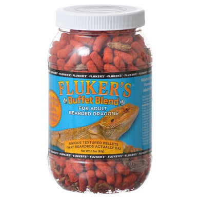 Flukers Buffet Blend for Adult Bearded Dragons - PetStoreNMore