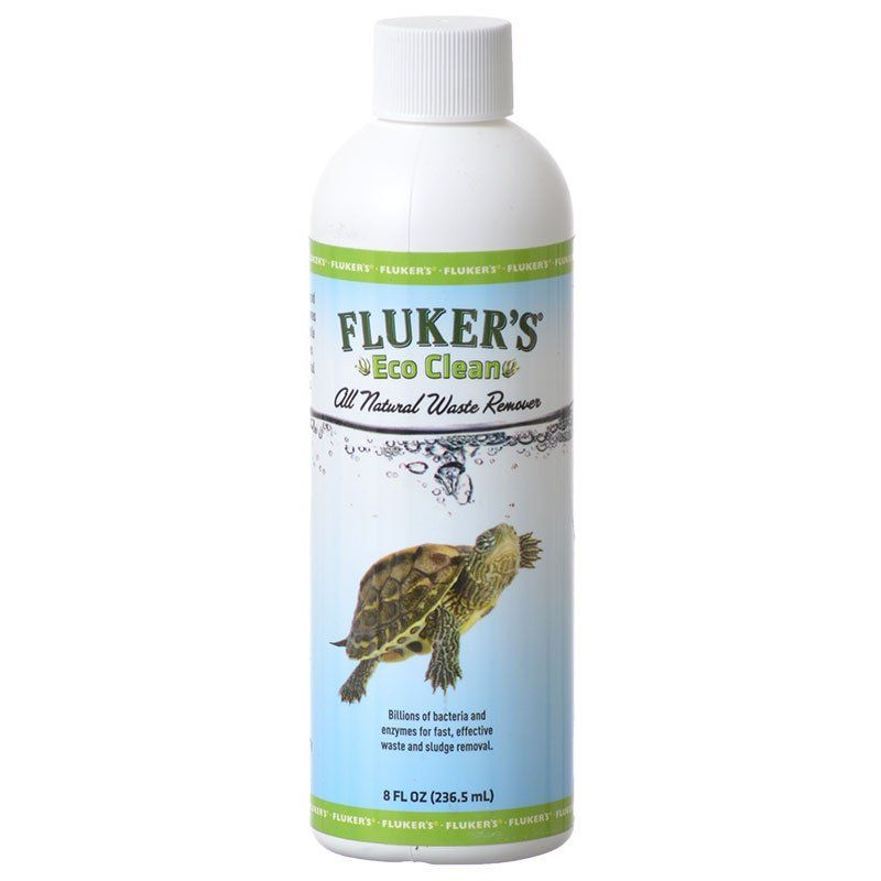 Flukers Eco Clean All Natural Waste Remover 8oz - PetStoreNMore