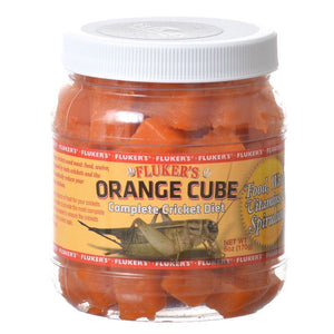Flukers Orange Cube Complete Cricket Diet - PetStoreNMore