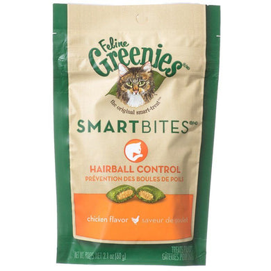 Greenies SmartBites Hairball Control Chicken Flavor Cat Treats 2.1oz - PetStoreNMore