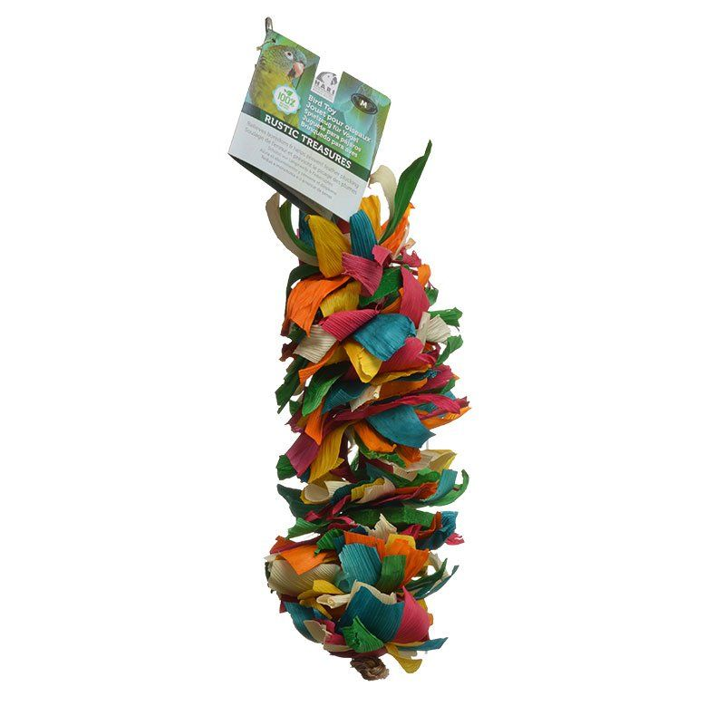 Hari Rustic Treasures Silk Cascade Bird Toy - PetStoreNMore